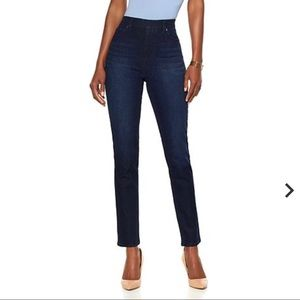 DG2 by Diane Gilman Classic Stretch Denim Jegging